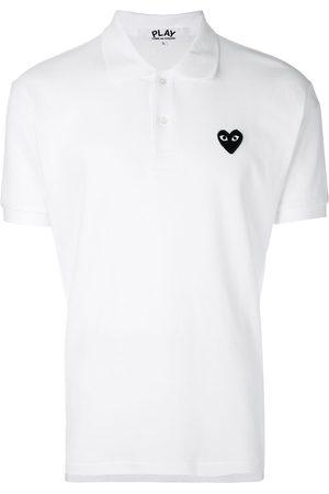 Comme des Garçons Mężczyzna Koszulki polo - White