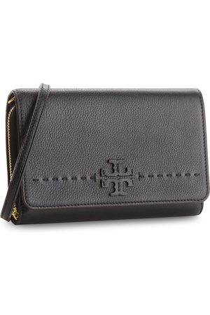 Tory Burch Torebka - Mcgraw Flat Wallet Cross-Body 41848 Black 001