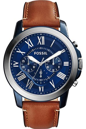 Fossil Zegarek - Grant FS5151 Light Brown/Blue