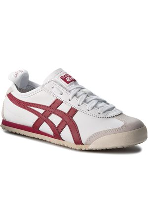Onitsuka Tiger Sneakersy - Sneakersy - Mexico 66 D4J2L White/Burgundy 0125