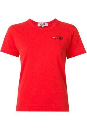 Comme des Garçons Embroidered heart T-shirt