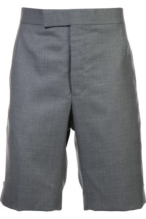 Thom Browne Classic Backstrap Short In Medium Super 120's Twill