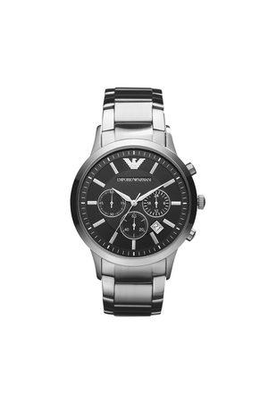 Emporio Armani Mężczyzna Zegarki - Zegarek - Renato AR2434 Silver/Silver