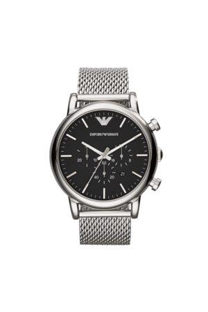 Emporio Armani Mężczyzna Zegarki - Zegarek - Luigi AR1808 Silver/Steel/Silver/Steel
