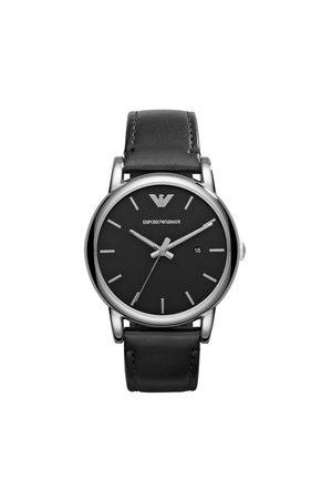 Emporio Armani Mężczyzna Zegarki - Zegarek - Luigi AR1692 Black/Silver/Steel