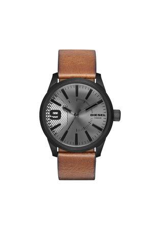 Diesel Mężczyzna Zegarki - Zegarek - Rasp DZ1764 Light Brown/Black