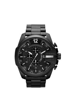Diesel Mężczyzna Zegarki - Zegarek - Mega Chief DZ4283 Black/Black