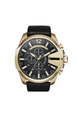Diesel Zegarek - Mega Chief DZ4344 Gold/Black/Gold