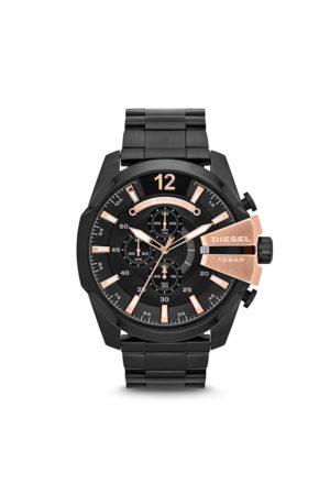 Diesel Mężczyzna Zegarki - Zegarek - Mega Chief DZ4309 Black/Black