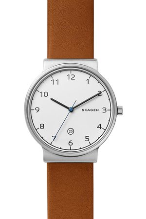 Skagen Zegarek - Ancher SKW6433 Brown/Silver