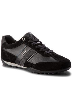 Geox Mężczyzna Buty casual - Sneakersy - U Wells C U52T5C 022ME C9B4N Black/Dk Jeans