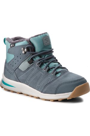 Salomon Trzewiki - Utility Ts Cswp J 404787 14 W0 Trellis/Stormy Weather/Tropical Green