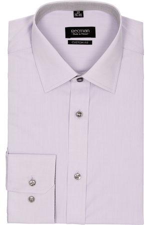 Recman Koszula bexley 2523 długi rękaw custom fit fiolet