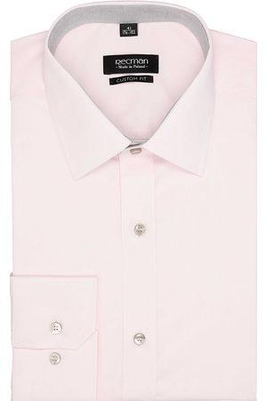 Recman Koszula bexley 2495 długi rękaw custom fit róż