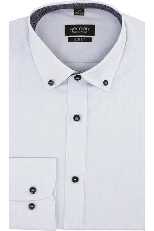 Recman Koszula bexley 2496/2 długi rękaw slim fit