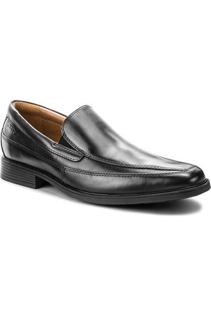 Clarks Półbuty - Tilden Free 261103127 Black Leather