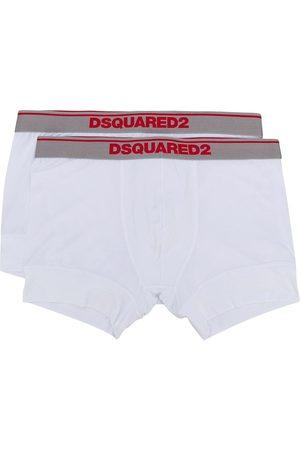 Dsquared2 Mężczyzna Bokserki - White