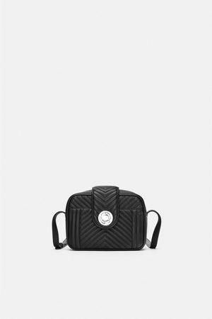 738ee30c1c259 pikowana torebka damskie torby Zara