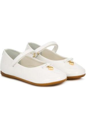 Dolce & Gabbana Dziewczynka Baleriny - White
