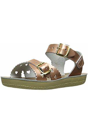 Water & Salt Salt Water sandals Sun-SAN Sweetheart Super Premium złota róża Leather Infant ścienny sandals