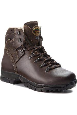 Meindl Mężczyzna Buty trekkingowe - Trekkingi - Wales 2 Mfs GORE-TEX 2924 Dunkelbraun 46