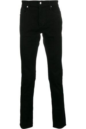 Frame Mężczyzna Rurki i Slim Fit - Black
