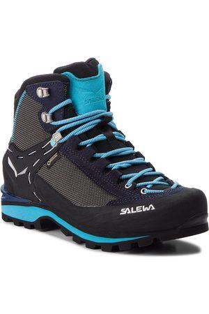 Salewa Kobieta Buty trekkingowe - Trekkingi - Crow Gtx GORE-TEX 61329-3985 Premium Navy/Ethernal Blue
