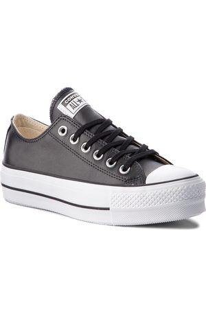 Converse Trampki - Ctas Lift Clean Ox 561681C Black/Black/White