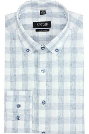 Recman Mężczyzna Z długim rękawem - Koszula versone 2744 długi rękaw custom fit