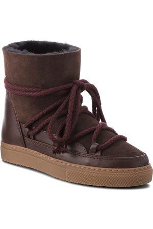INUIKII Kobieta Kozaki - Buty - Sneaker Classic 70202-5 D'Brown