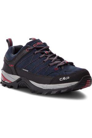 CMP Mężczyzna Buty trekkingowe - Trekkingi - Rigel Low Trekking Shoes Wp 3Q13247 Asphalt/Syrah 62BN