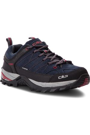CMP Trekkingi - Rigel Low Trekking Shoes Wp 3Q13247 Asphalt/Syrah 62BN