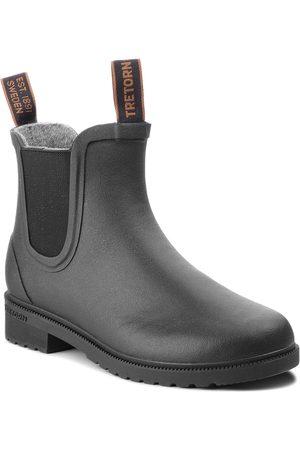 Tretorn Botki - Kalosze - Chelsea Classic Wool 473417 Black 10