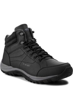 Hi-Tec Mężczyzna Buty trekkingowe - Trekkingi - Canori Mid AVSAW18-HT-01-Q3 Black/Dark Grey