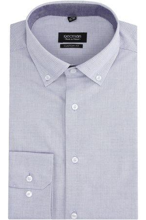 Recman Koszula bexley 2811 długi rękaw custom fit fiolet