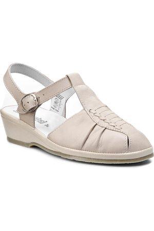 Comfortabel Sandały - 710704 Beige 8