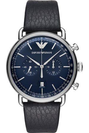 Emporio Armani Mężczyzna Zegarki - Zegarek - Aviator AR11105 Blue/Silver
