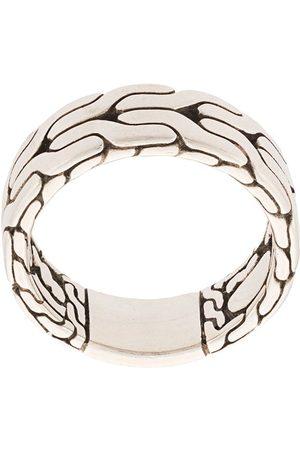 John Hardy Mężczyzna Pierścionki - Classic Chain Band Ring