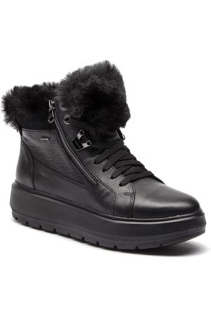 Geox Sneakersy - D Kaula B Abx D D84AWD 00046 C9999 Black