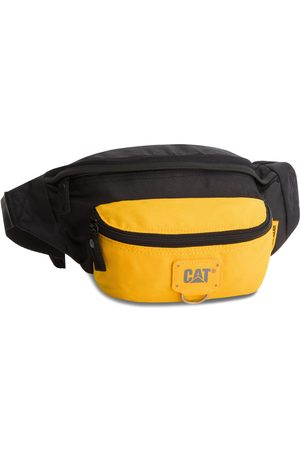 Caterpillar Saszetka nerka - Raymond 83432-12 Black/Yellow