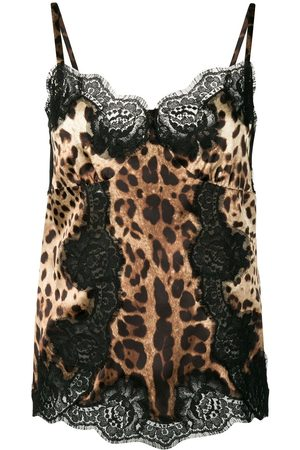 Dolce & Gabbana Kobieta Tank topy - Brown