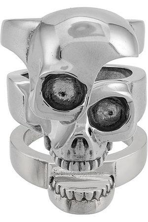 Alexander McQueen Mężczyzna Pierścionki - Metallic