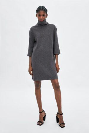 dba6528252 Czarne Dzianiny dresowej damskie sukienki