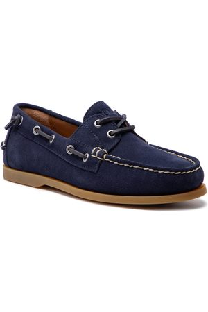 Polo Ralph Lauren Mężczyzna Brogsy i Mokasyny - Mokasyny - Merton 803730057002 Navy