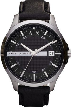 Armani Mężczyzna Zegarki - Zegarek - Hampton AX2101 Black/Silver