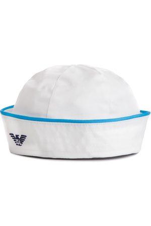 Armani Czapka - 404371 9P548 00010 Bianco