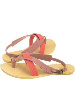 Melissa Girl Sandal + Jason WU 32321/53301 Yellow/Pink/Orange (ML79-a)