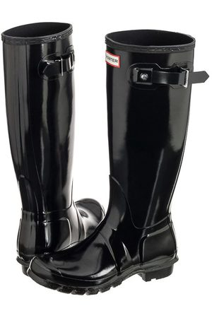 Hunter Womens Original Tall Gloss Black WFT1000RGL (HU17-a)