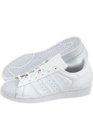 Adidas Superstar Glossy Toe Skórzane Buty Damskie Białe