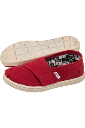 TOMS Classic Red Canvas 013001D13 (TS6-b)